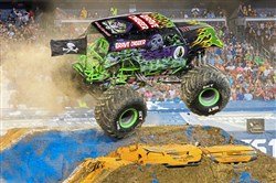 The annual Monster Jam comes roaring into PPG Paints Arena this weekend.