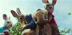 "A scene from the ""Peter Rabbit"" movie."