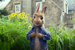 "Peter Rabbit (James Corden) in ""Peter Rabbit."""