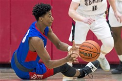 Jeannette's Tre Cunningham has had little time to sit and rest. The three-sport standout has led the Jayhawks' baseball and football teams to WPIAL titles, and now is setting his sights on basketball gold.