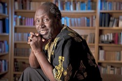"Ngugi wa Thiong'o is author of ""Wrestling With the Devil."""