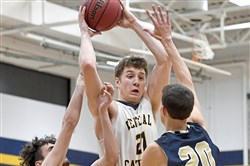 Central Catholic's Luke Nedrow is looking forward to playing against the top area talent one last time.