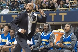 Eugene Wilson coached Westinghouse to the City League championship game this past season. He has been hired as Baldwin's new coach.