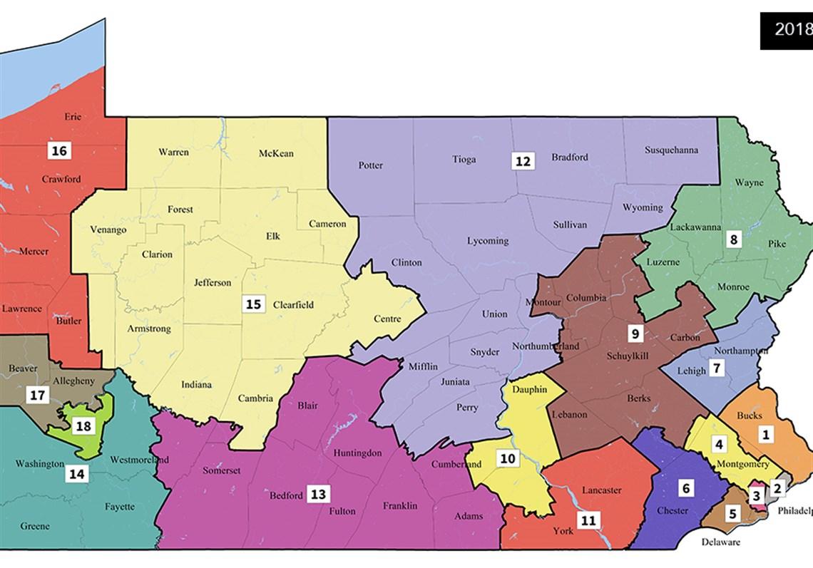 Pennsylvania  >> In One Week Pennsylvania Congressional Races Became Unpredictable