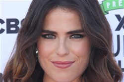 "Karla Souza at ""EIF Presents: XQ Super School Live,"" held at the Barker Hangar on September 08, 2017, in Santa Monica, Calif."