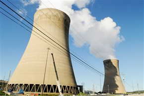 The Beaver Valley Nuclear Plant in Shippingport.
