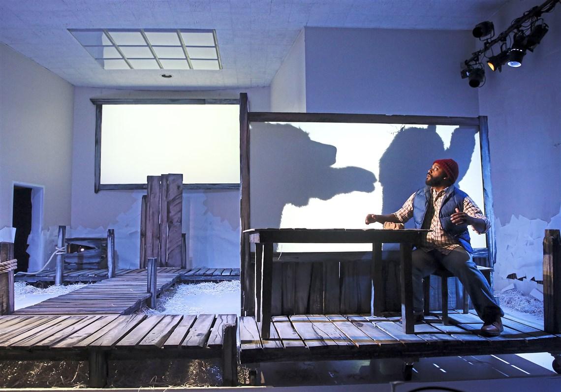 Kyle Haden In A Scene With Skyler Ray Benson Davis And John Shepard, Playing