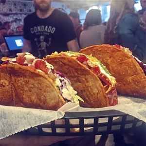 Condado Tacos has come out with a new type of hard taco shell -- the firecracker.