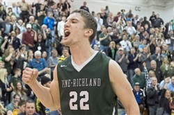 Pine-Richland's Phil Jurkovec is a heralded quarterback in football headed to Notre Dame, but he also was an all-state pick in basketball.