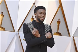 "Chadwick Boseman, at the 2018 Oscars as the star of ""Black Panther,"" joins Viola Davis in the upcoming Netflix film of August Wilson's ""Ma Rainey's Black Bottom."""
