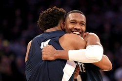 "Penn State and Tony Carr, right, are now back among projected bubble teams, according to ESPN ""Bracketology"" expert Joe Lunardi."