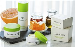 Products by Cannuka (cannuka.com) combine 99.7 pure crystalized CBD isolates with Mannuka honey.