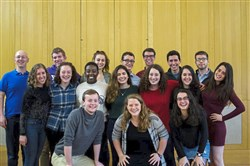 Magevet -- Yale's Jewish, Hebrew, and Israeli a cappella group -- will be coming to Pittsburgh March 14-21 and have gigs throughout the area during that time; one of the most exciting concerts is at noon on Sunday, March 18th at 12pm, when Magevet will be performing at an event at Tree of Life, which will be co-sponsored by other synagogues and organizations.  Credit: Magevet