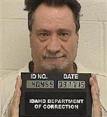 This undated booking photo provided by the Idaho Department of Correction shows Glenn Arthur Cox.