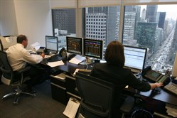 Private wealth advisers at work in New York.