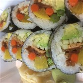 Veggie Lover Roll at No. 1 Sushi Sushi in Market Square