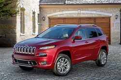 2018 Jeep® Cherokee Overland  The 2018 model year will be the last year for the squinty-eyed headlights introduced on the Jeep Cherokee a few seasons back.