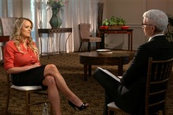 "Stormy Daniels tell Anderson Cooper her side on ""60 Minutes."""