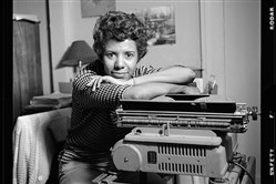 "Playwright and activist Lorraine Hansberry, in her Greenwich Village apartment during her April 1959 photo shoot for Vogue, is the subject of the documentary ""Sighted Eyes/Feeling Heart,"" featured on the PBS American Master series and showing Monday at the August Wilson Center."