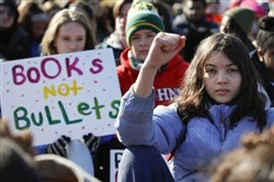 Students march for their lives.