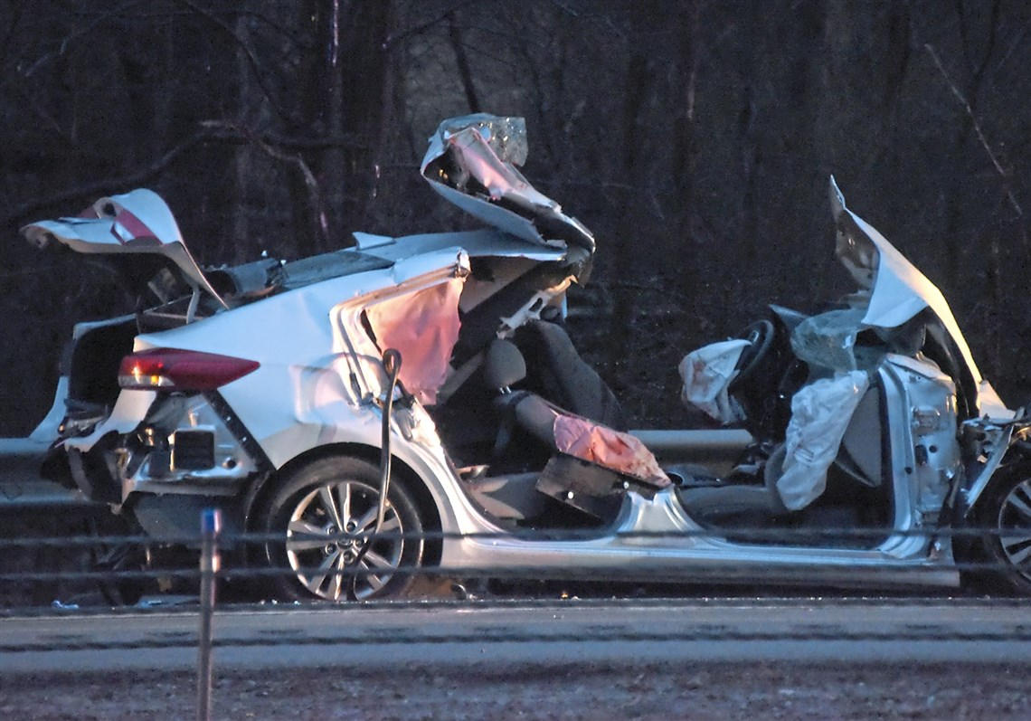 Two killed in five-vehicle wrong-way crash on I-79   Pittsburgh Post ...