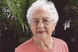 Virginia Gramm of Brentwood turned 100 on March 24.