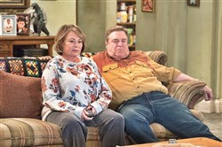 "Roseanne Barr and John Goodman star in the 2018 reboot of ""Roseanne"" on ABC. The show originally aired from 1988 to 1997."