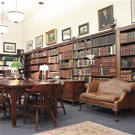 The Oliver Room at Carnegie Library of Pittsburgh in Oakland.