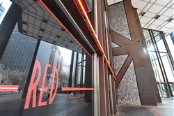 Entrance to Red the Steakhouse in the U.S. Steel Tower, which opened in the fall.