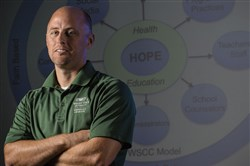 Kevin Lorson helped develop HOPE: the Health and Opioid Prevention Education program.