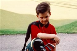 Patrick Reed as a child in an undated photo at Diamond Run.