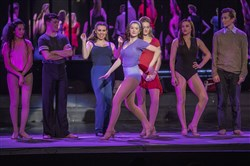 """A Chorus Line"" at Central Catholic High School featured actors from Central and Oakland Catholic High Schools."