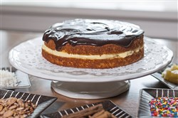 A Boston Cream cake is one of many simple layer cakes that can be made by altering the same recipe.