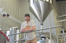 Steve Ilnicki, co-owner and head brewer at Spoonwood Brewing Co., is pictured on Friday, April 13, 2018 in Bethel Park.