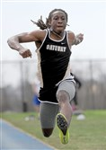 Courtney Jackson of Gateway won the triple jump at the Tri-State Track Coaches Association championships on April 14 and most recently took the event at the Mars Invitational.