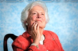 Barbara Bush in March 2005.