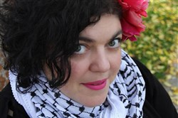 "Randa Jarrar, an author and Fresno State English professor, called the late Barbara Bush an ""amazing racist"" on Twitter. (Fresno State University)"