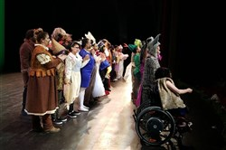 "Curtain call for ""Shrek,"" the 2018 spring musical at Propel Braddock Hills High School."