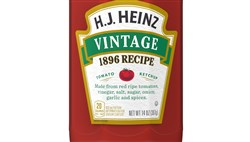 "Kraft Heinz is starting to sell a ""Vintage 1896 Recipe"" version of its flagship Heinz ketchup."