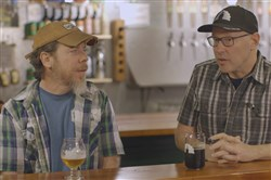 "The new craft beer documentary ""Poured in Pennsylvania"" features several Pittsburgh and Western Pennsylvania breweries, including Larimer's East End Brewing Co.  Brewer Brendan Benson, left, and owner Scott Smith are in the film."