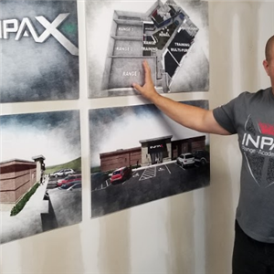 In this November 2017 file photo, INPAX owner Sam Rosenberg discusses the floor plan of his shooting range and training center in the McCandless Crossiing shopping complex.