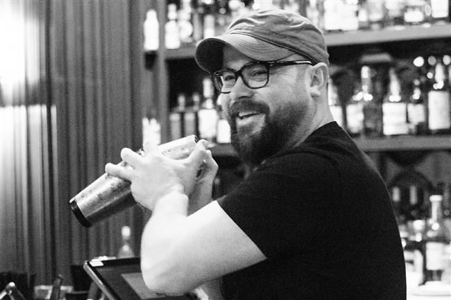 Spencer Warren, owner of The Warren, Downtown, will be among the contestants at Cultured Cocktails on Saturday.