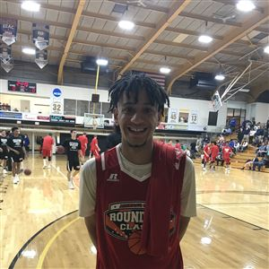 Keystone Oaks senior Vonte Mitchell had six points and wasn't one of the high scorers in the Roundball Classic, but he enjoyed it as much as anyone.