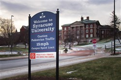 More than a dozen members of the Theta Tau fraternity at Syracuse University were suspended after a second video of lewd behavior emerged over the weekend.