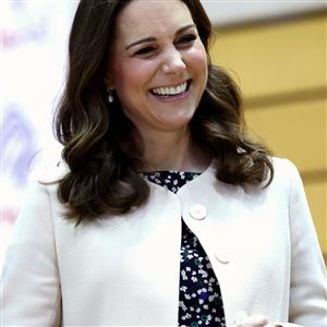 In this Thursday, March 22, 2018 file photo, Britain's Kate, Duchess of Cambridge meet wheelchair basketball players, some of whom hope to compete in the 2022 Commonwealth Games, during their visit to the Copperbox Arena, London.