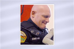 Reserve Township Police Officer Brian Dourlain