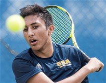 Naman Dua is the top singles player at Shady Side Academy and teamed with Colin Gramley to win the section doubles title.
