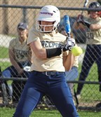 Not many balls have gotten past Freeport's Ally DeJidas, who is batting .679 with 21 RBIs.