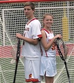 Noah Sperling and Kinsey Sperling are brother and sister and goalkeepers for their respective lacrosse teams at Cardinal Wuerl North Catholic .