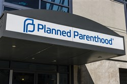 A Planned Parenthood location in April 2017